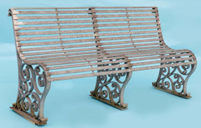 Traditional Ironwork - Bench