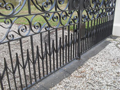 Traditioanl Ironwork - Gate