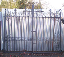 Gate - Traditioanl Ironwork