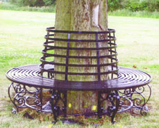 Traditioanl Ironwork - Tree Seat