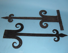 Traditioanl Ironwork - Decorative Hinges