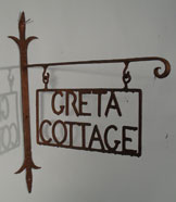 Traditioanl Ironwork - House sign