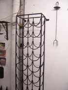 Traditioanl Ironwork - Wine rack
