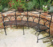 Traditioanl Ironwork - bench