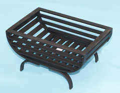Small fire grate - oval bottom